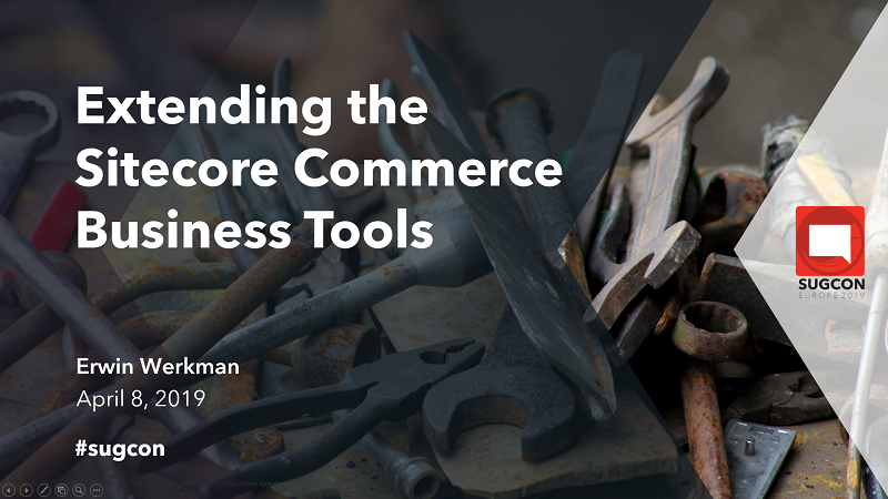 Extending the Sitecore Commerce Business Tools